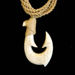 unique fish hook shell carved jewelry