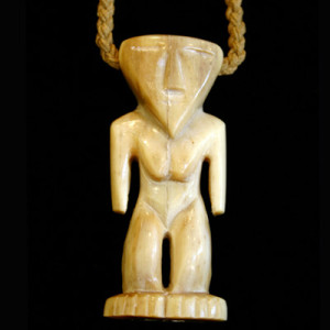 unique carved polynesian necklace