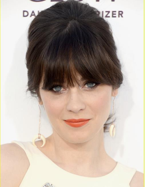 zooey bone earrings billboards